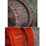 Synchronous Motor Cleaning Before and After