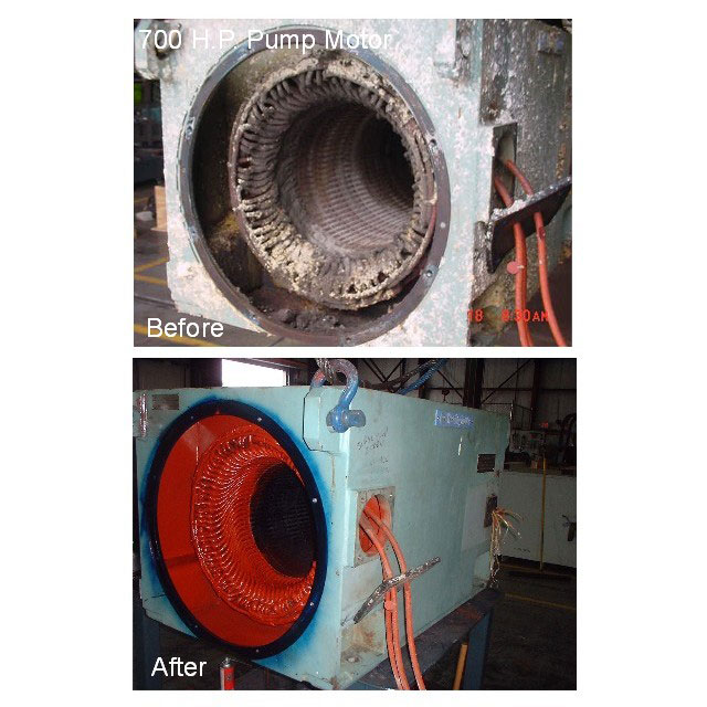 Before and After of Dry Ice Cleaning